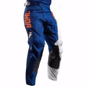 Pantalon cross Thor PULSE AKTIV 2017 - ORANGE BLEU