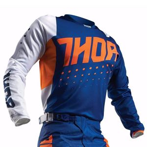 Maillot cross Thor PULSE AKTIV 2017 - ORANGE BLEU