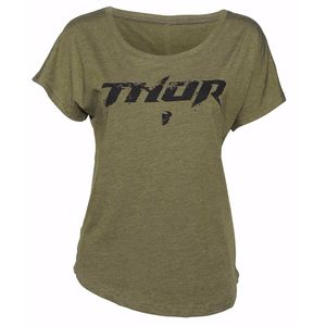 T-shirt manches courtes Thor WOMENS ROOST Vert