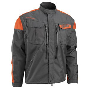 Veste enduro Thor PHASE 2017 - CHARBON ORANGE