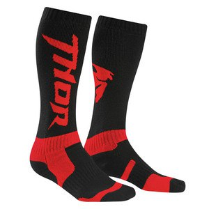 Chaussettes Thor YOUTH MX 2017 - NOIR ROUGE
