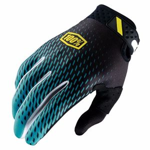 Gants cross 100% RIDEFIT - SUPRA TEAL 2017