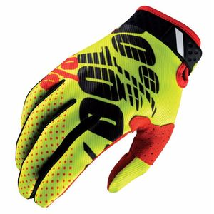 Gants cross 100% RIDEFIT - YELLOW/BLACK 2017