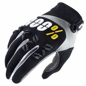 Gants cross 100% AIRMATIC - BLACK 2017
