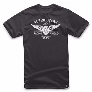 T-shirt manches courtes Alpinestars LANDSPEED Black