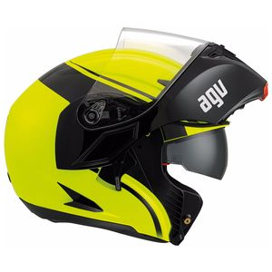 Casque AGV COMPACT ST - COURSE Black/Yellow