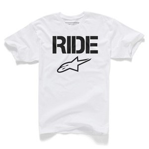 T-shirt manches courtes Alpinestars RIDE SOLID