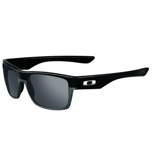 Lunettes de soleil Oakley TWO FACE - POLISHED BLACK - BLACK IRIDIUM