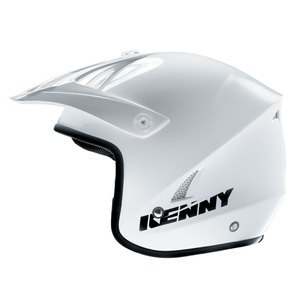 SOLDES Casque cross Kenny TRIAL UP 2016 WHITE