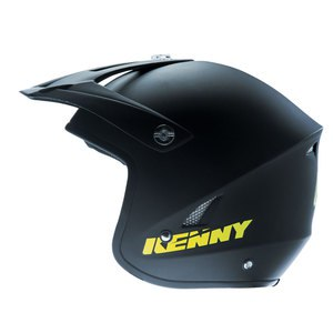SOLDES Casque cross Kenny TRIAL UP 2016 MATTE BLACK YELLOW FLO