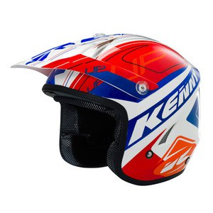 SOLDES Casque cross Kenny TRIAL UP 2016 RED ORANGE BLUE