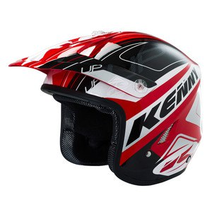SOLDES Casque cross Kenny TRIAL UP 2016 RED BLACK