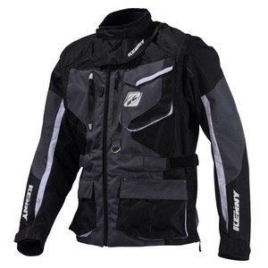 Veste enduro Kenny TITANIUM 2016 BLACK GREY