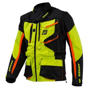 Veste enduro Kenny TITANIUM 2016 YELLOW FLO