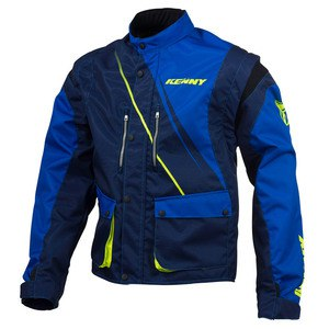 Veste enduro Kenny TRACK 2016 BLUE YELLOW FLO