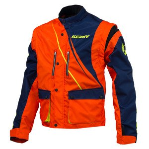 Veste enduro Kenny TRACK 2016 BLUE ORANGE FLO