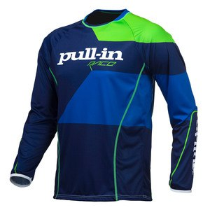 Maillot cross Pull-in Destockage FIGHTER 2016 BLEU VERT