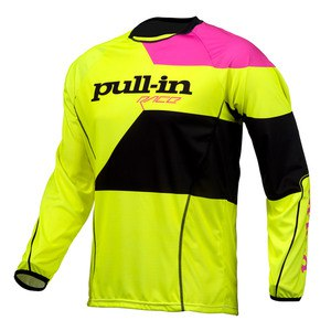 FIGHTER  JAUNE FLUO ROSE FLUO