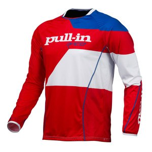 Maillot cross Pull-in Destockage FIGHTER 2016 BLEU BLANC ROUGE