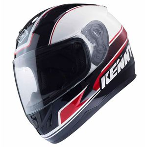 Casque Kenny KID TARGA - BLANC / NOIR / ROUGE - 2017
