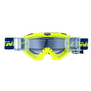 Masque cross Kenny TRACK MAX - BLEU / JAUNE FLUO - 2017