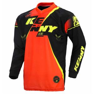 TRACK - NOIR / ORANGE FLUO -