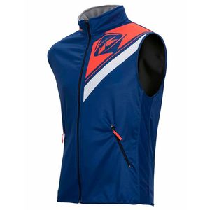 BODY WARMER ENDURO - NAVY ORANGE FLUO -