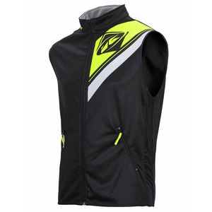 BODY WARMER ENDURO - NOIR JAUNE FLUO -