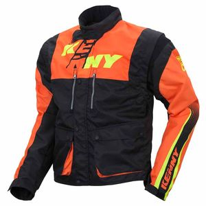 Veste enduro Kenny TRACK - NOIR / ORANGE - 2017