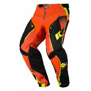 Pantalon cross Kenny TRACK - NOIR / ORANGE FLUO - 2017