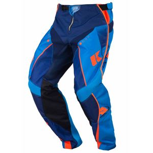 Pantalon cross Kenny TRACK - MARINE / CYAN / ORANGE FLUO - 2017