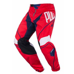 Pantalon cross Pull-in CHALLENGER - BLEU ROUGE - 2018