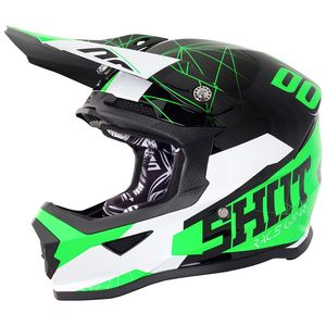FURIOUS SPECTRE BLACK GREEN GLOSSY ENFANT