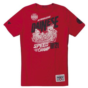 T-shirt manches courtes Dainese SPEED CHAMP