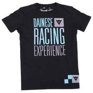 T-shirt manches courtes Dainese RACING EXPERIENCE Black