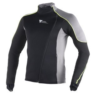 Veste Dainese D-MANTLE FLEECE WS Black/yellow