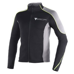 Veste Dainese D-MANTLE FLEECE Black/yellow