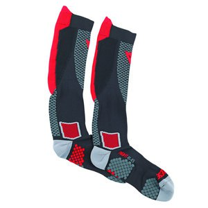 Chaussettes Dainese D-CORE HIGH SOCK Black/Red