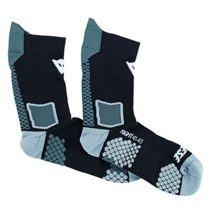 Chaussettes Dainese D-CORE MID SOCK Black/anthracite
