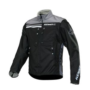 SOFTSHELL ENDURO - BLACK GREY