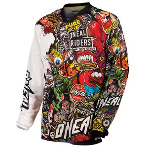 Maillot cross O'Neal MAYHEM CRANK 2017