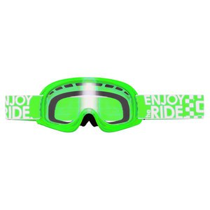 Masque cross O'Neal B YOUTH 2017 VERT FLUO