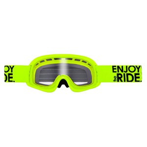 Masque cross O'Neal B YOUTH 2017 JAUNE FLUO
