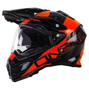 Casque cross O'Neal SIERRA EDGE 2017 NOIR ORANGE