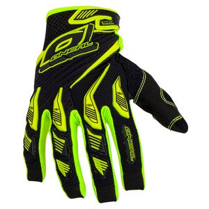 Gants cross O'Neal SNIPER ELITE 2017 JAUNE FLUO