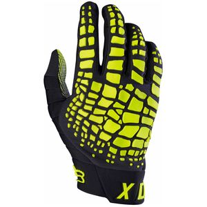 Gants cross Fox 360 GRAV 2017 - NOIR JAUNE