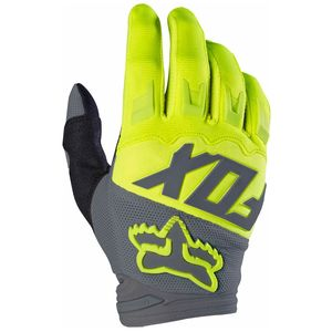 Gants cross Fox DIRTPAW RACE 2017 - JAUNE