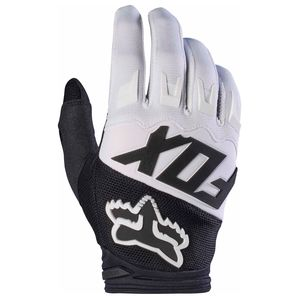 Gants cross Fox DIRTPAW RACE 2017 - NOIR BLANC