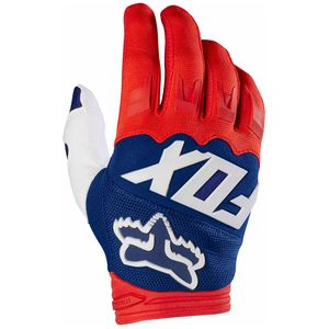 Gants cross Fox DIRTPAW RACE 2017 - ROUGE BLANC