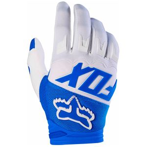 Gants cross Fox DIRTPAW RACE YOUTH 2017 - BLEU